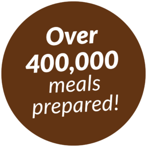 Over 400,000 Meals Prepared